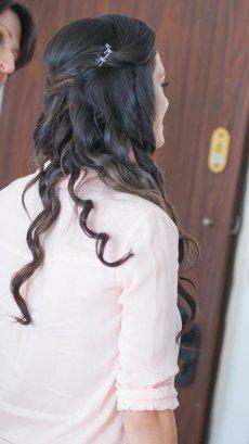 תמונה 3 מתוך חוות דעת על דקל עוז תסרוקות כלה וערב - תסרוקות כלה ועיצוב שיער