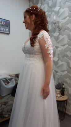 תמונה 6 מתוך חוות דעת על KALA YAFA - כלה יפה - שמלות כלה