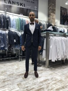 תמונה 8 מתוך חוות דעת על לנסקי Lanski מכירה והשכרת חליפות חתן - חליפות חתן