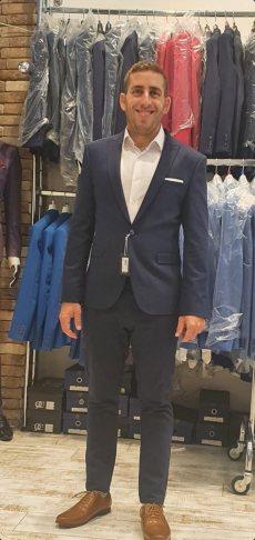 תמונה 4 מתוך חוות דעת על לנסקי Lanski מכירה והשכרת חליפות חתן - חליפות חתן