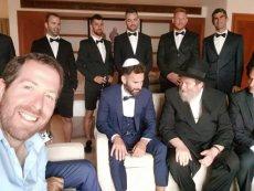 תמונה 2 של הרב אליעזר ברוד - טקס מכובד, מרגש ומתחשב - רבנים ועורכי טקסים