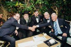 תמונה 5 של הרב אליעזר ברוד - טקס מכובד, מרגש ומתחשב - רבנים ועורכי טקסים