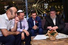 תמונה 6 של הרב אליעזר ברוד - טקס מכובד, מרגש ומתחשב - רבנים ועורכי טקסים