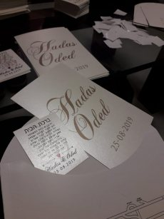 תמונה 10 מתוך חוות דעת על פרי פרינט – הזמנות לחתונה - הזמנות לחתונה