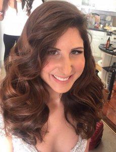 תמונה 8 מתוך חוות דעת על טלי עמרם - איפור ושיער - תסרוקות כלה ועיצוב שיער