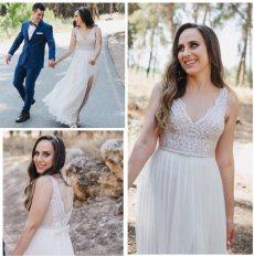 תמונה 3 מתוך חוות דעת על ירון ברכה בצלאל - שמלות כלה וערב - שמלות כלה