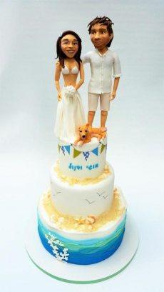 תמונה 8 מתוך חוות דעת על תמר על ההר - עוגות חתונה