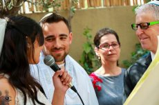תמונה 3 מתוך חוות דעת על רב רפורמי אמיר וינד - חתונה רפורמית - עורכי טקסים אלטרנטיביים