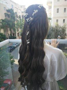 תמונה 9 מתוך חוות דעת על שני שוסטר תסרוקות כלה-ערב - תסרוקות כלה ועיצוב שיער