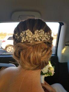 תמונה 10 מתוך חוות דעת על שני שוסטר תסרוקות כלה-ערב - תסרוקות כלה ועיצוב שיער