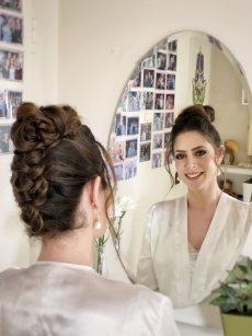 תמונה 9 מתוך חוות דעת על ורד אורן חינגה - איפור ושיער - איפור כלות