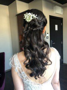 תמונה 1 מתוך חוות דעת על ורד אורן חינגה - איפור ושיער - איפור כלות