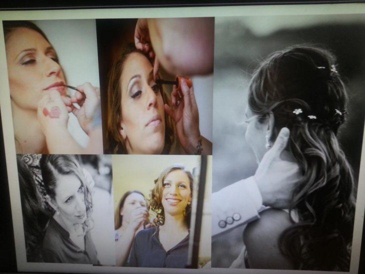 תמונה 4 מתוך חוות דעת על חגית הרן איפור ושיער - איפור כלות