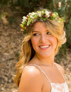 תמונה 7 של סיון פרימור flower queens - אקססוריז ותכשיטים לחתונה