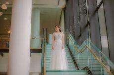 תמונה 2 מתוך חוות דעת על מיכל מוטיל - שמלות כלה