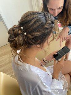 תמונה 6 מתוך חוות דעת על אולגה אלמליח- איפור ועיצוב שיער - איפור כלות