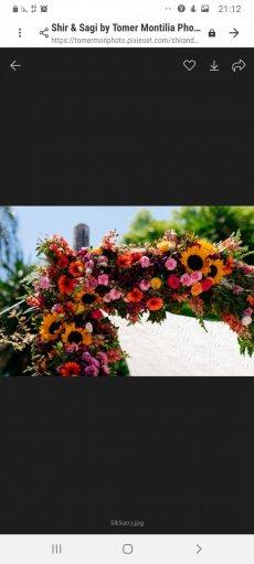 תמונה 8 מתוך חוות דעת על שזור בקסם - שזירת תכשיטי פרחים באירועים - שזירת פרחים