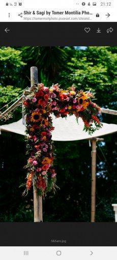 תמונה 10 מתוך חוות דעת על שזור בקסם - שזירת תכשיטי פרחים באירועים - שזירת פרחים