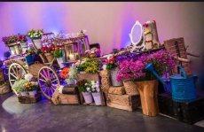 תמונה 5 של פרחי היסמין דוכן שזירה - עיצוב אירועים