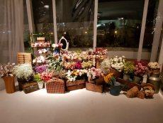 תמונה 7 של פרחי היסמין דוכן שזירה - עיצוב אירועים