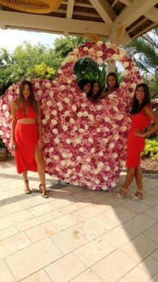 תמונה 9 של פרחי היסמין דוכן שזירה - עיצוב אירועים