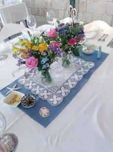 תמונה 2 מתוך חוות דעת על פרחי היסמין דוכן שזירה - עיצוב אירועים