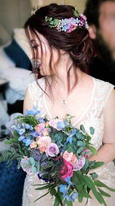 תמונה 9 מתוך חוות דעת על לילי - עמדת שזירה ועיצוב חתונות  Lily - Flower Booth - עיצוב אירועים