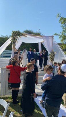 תמונה 3 מתוך חוות דעת על הרב דורון הלוי חופה מרגשת מאהבה ומותאמת אישית כדת משה וישראל - רבנים ועורכי טקסים
