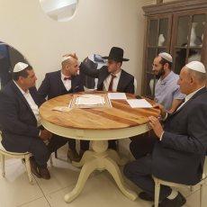 תמונה 7 של הרב אלירן זגורי-לטקס קצר שמח ומרגש :) - רבנים ועורכי טקסים