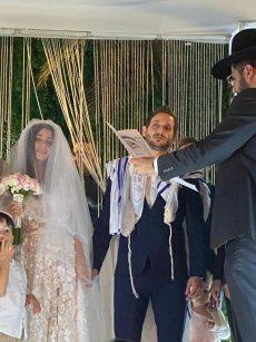 תמונה 5 מתוך חוות דעת על הרב אלירן זגורי-לטקס קצר שמח ומרגש :) - רבנים ועורכי טקסים