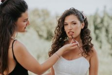 תמונה 10 מתוך חוות דעת על קשת חקון איפור ועיצוב שיער לכלות - איפור כלות